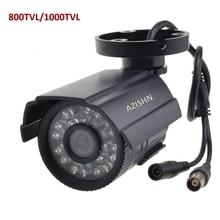 CCTV Камера 800TVL/1000TVL ИК-фильтр 24 часа день/Ночное видение видео открытый Водонепроницаемый пуля ИК Камеры скрытого видеонаблюдения