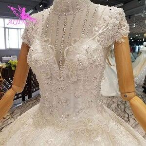 Image 3 - AIJINGYU suknie ślubne zdjęcia korzystnym cenowo sklepie suknie w pobliżu mnie długie skromne turecki arabski najlepszy najnowszy biała suknia suknia ślubna Party