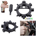 1 Set Useful Gadget 10 in 1 Bicycle Repair Tools Outdoor Keychain Screwdriver On Car