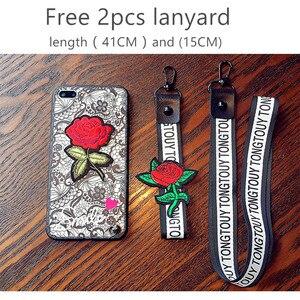 Модный Сексапильный чехол для телефона Apple iPhone 7, 6 S, 6 S, 8 Plus, X, женский кружевной чехол-накладка для iPhone 7, 5, 5S, SE с ремешком