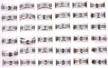 Lote de anillos negros de acero inoxidable para hombre y mujer, banda de 8mm de fibra de carbono, dragón de nepalí, 316L, regalo de compromiso de boda, 12 Uds.