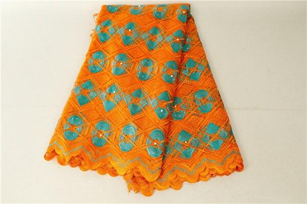 Dentelle africaine tissu fleur brodé nigérian lacets tissu de mariée de haute qualité Tulle français dentelle tissu pour fête de mariage Y161-in Tissu from Maison & Animalerie    1