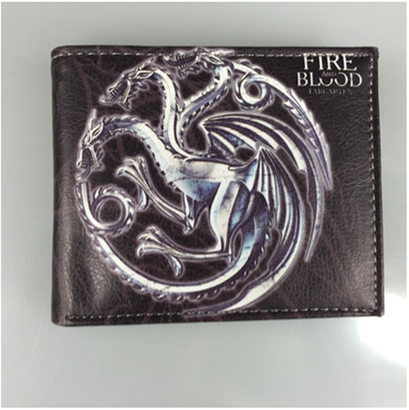 цена на 2018 new Hot Game of Thrones Wallet Dollar Price Purse Men Women Boys Girls Wallets For Young Students W065