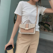 New 2019 Bohemian fashion Straw Bags for Women's Beach Handbags Summer Vintage Rattan Bag Handmade Kintted Crossbody Bag
