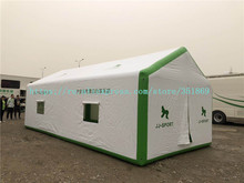 Factory customized direct selling outdoor large PVC inflatable air-proof tent, large PVC inflatable mobile tent.