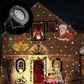 Decoração do feriado À Prova D' Água LEVOU Ao Ar Livre Luzes Do Palco 12 Tipos de Natal Do Floco De Neve Do Laser Projetor lâmpada Casa Jardim Luz Da Estrela