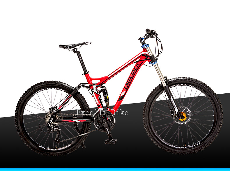 Excelli Bike 26 17 Mountain Bike 27 Speeds Full Suspension