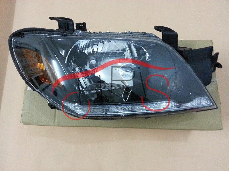 стайлинга автомобилей автомобиля света для Мицубиси Аутлендер 2003-2005 фара