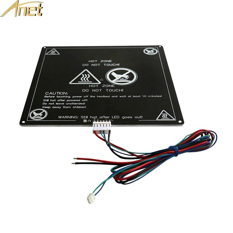2Pcs 3D Printer 200x300x3mm MK3 Aluminum Board PCB Heatbed Heat Bed 12V//24V