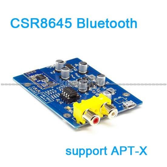 CSR8645 module Bluetooth 4 0 audio receiver board USB support APT-X  transmission For Car Amplifier Speaker Modify