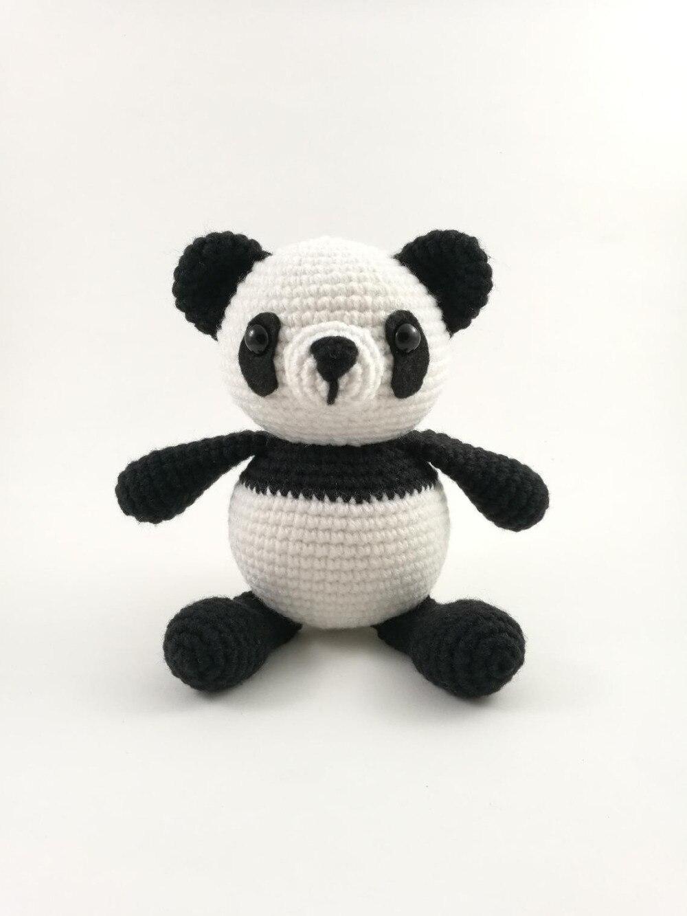 Crochet Toys  Amigurumi Panda Model Number KO0032