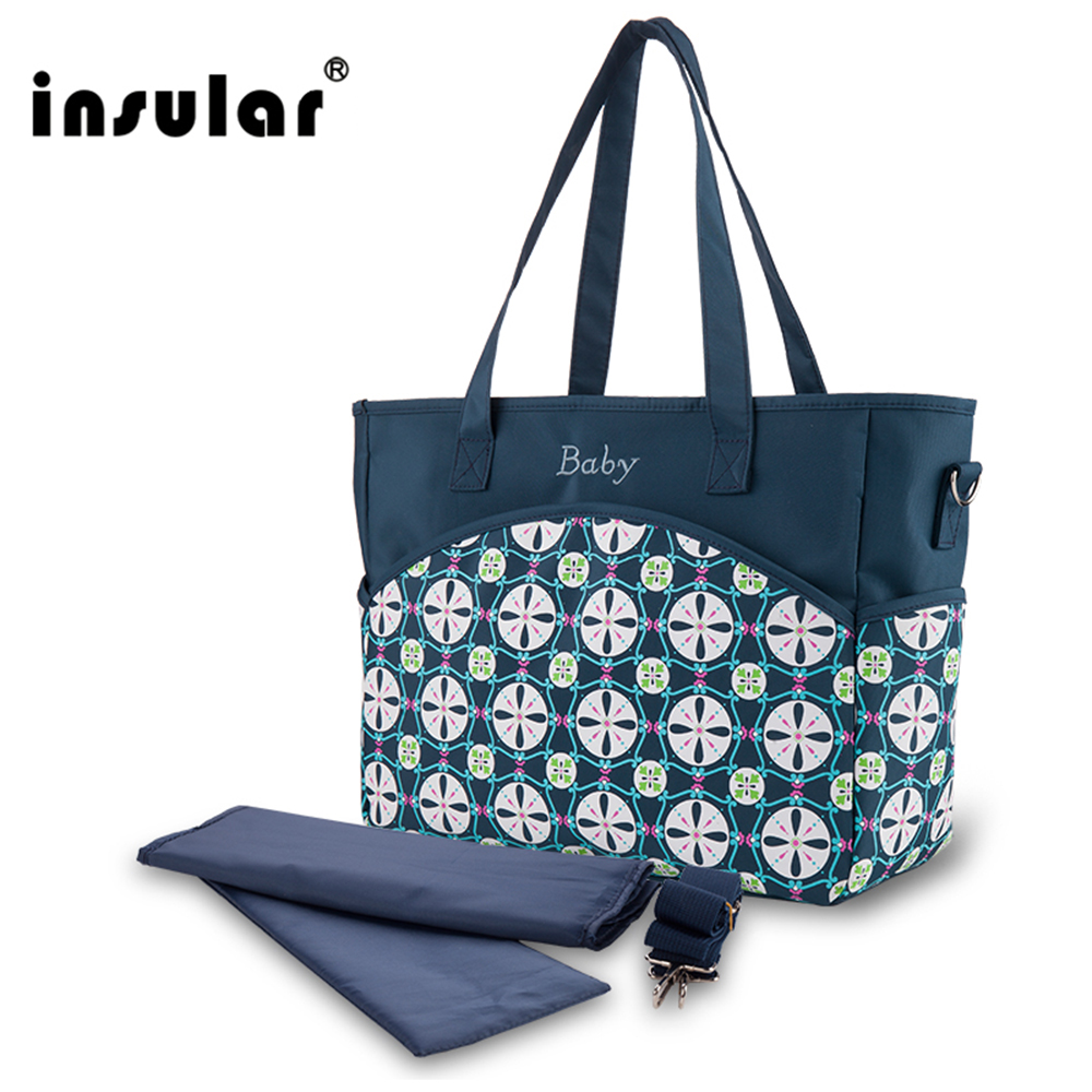 Insular Baby Nappy Bags Waterproof Diaper Bag Mother Shoulder Bag High Quality Maternity Mummy Messenger Bag Stroller Organizers