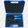Terminal Combination crimping tool set with 4 replaceable die sets LS03C-5D3,crimping tool kit