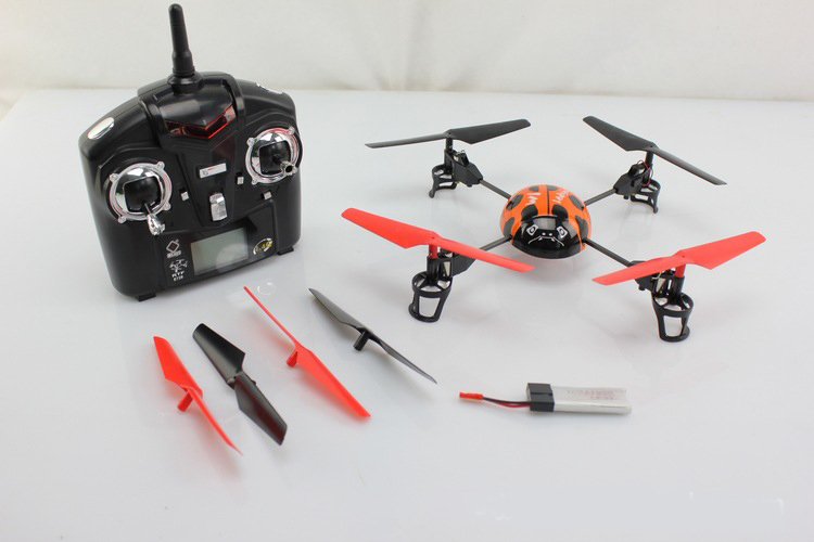 WL v929 2.4GHz 4ch mini flying UFO X-Copter Quadcopter helicopter rc ladybird bettle insect with gyro P2 wltoys v959 2 4g 4 channel 4 axis gyro ufo 4ch remote control rc aircraft quadcopter helicopter with camera wl v959 quad copter