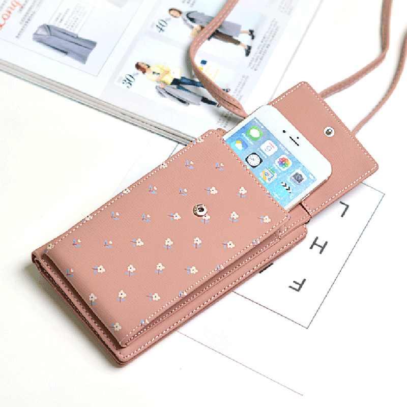 Für iphone 11 pro max fall Schulter Tasche Wallet Card Slot Telefon Tasche PU Leder Messenger Bags Mädchen Kleine Kreuz Körper tasche Handtasche