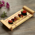 Japan Style Creative Bamboo Sushi Plate Shiraki Platter Sashimi Serving Trays Traditional Cooking Utensils Tableware
