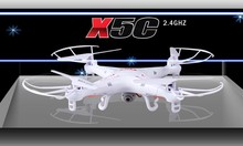 free shipping SYMA X5C 2.4G 6-Axis 4 channels RC Drone RC Quadcopter With 2MP HD Camera