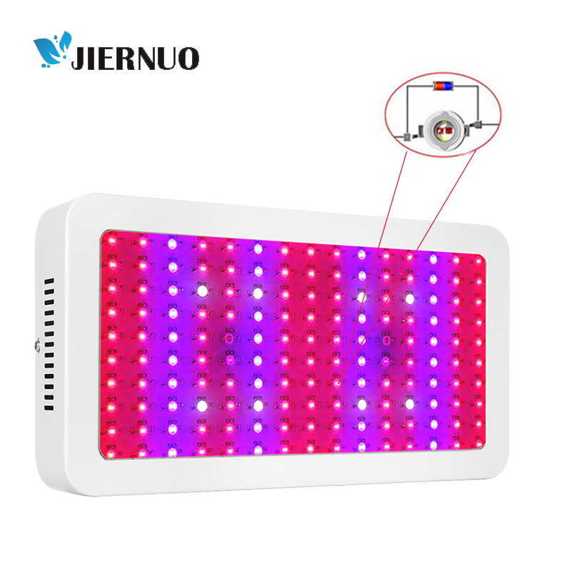 1500W LED Grow Light Double chips plant grow light full spectrum 150leds UV IR Red Blue for indoor plants growing hydroponics 600w double chip 100 leds red grow light full spectrum uv ir for indoor greenhouse plant and flower