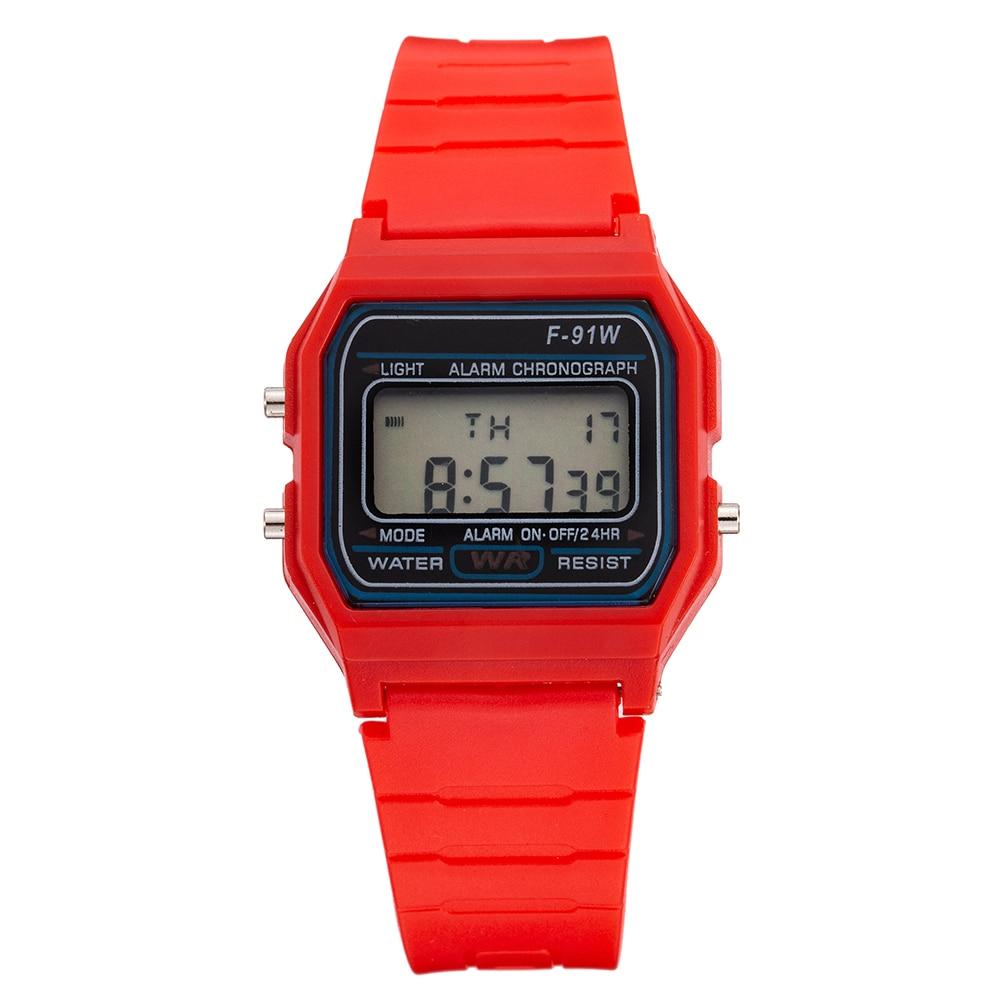 Children Watch Kids Sport LED Digital Watches Boys Girls Silionce Electronic Watch Lovely Child Clock Relogio Infantil Saatler