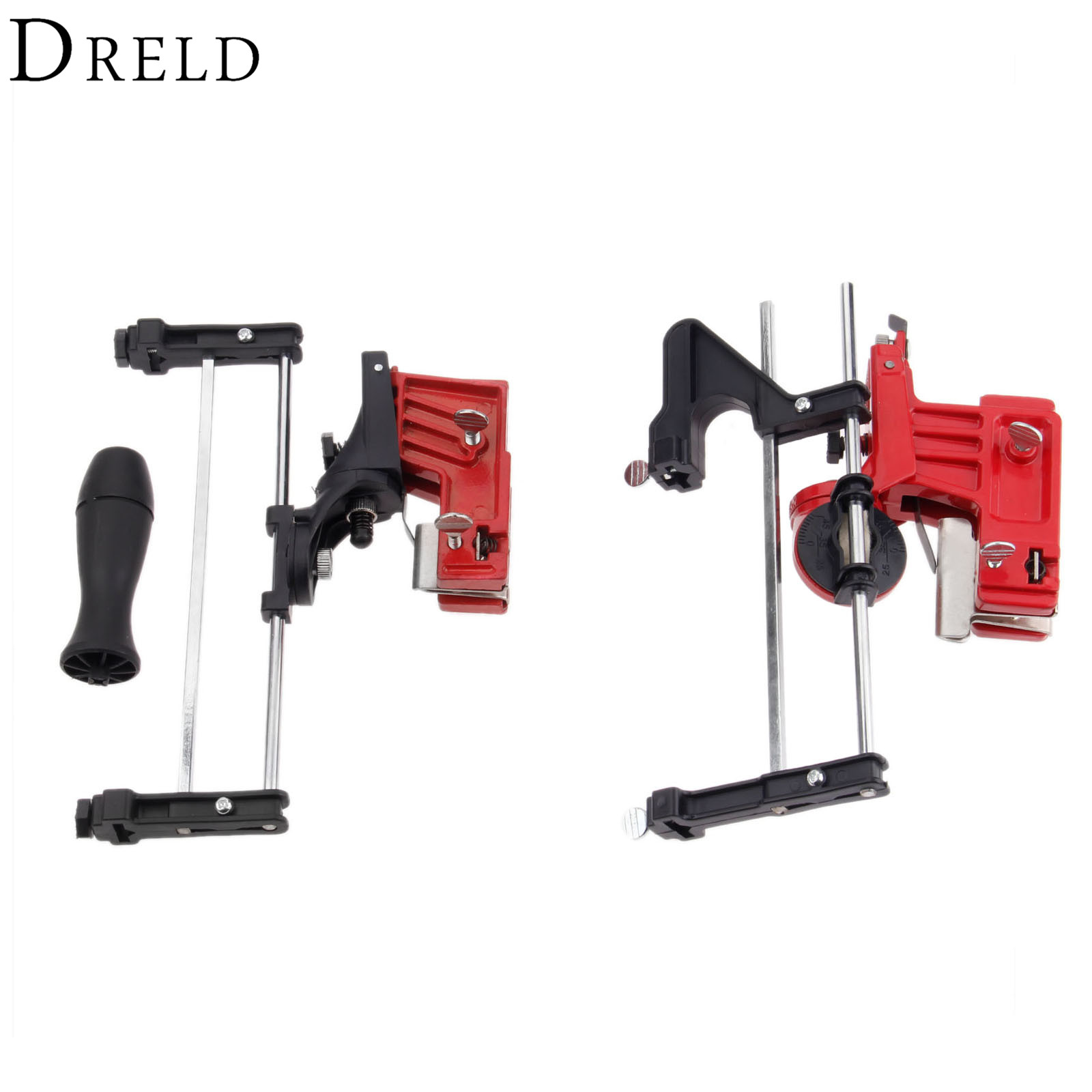 DRELD Universal Pro Lawn Mower Chainsaw Chain File Guide Sharpener Grinding Guide for Chainsaw Sharpener Garden Tools Parts
