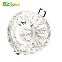 בדרגה גבוהה גביש הקטן מודרני downlight ספוט LED 110 V 220 V 85-265 V 3 W 5 W מסדרון אורות מעבר מנורת תקרת תאורה למטה מנורה