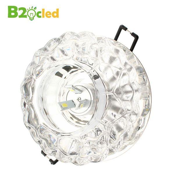 de alta calidad moderno peque u00f1o cristal downlight led spot