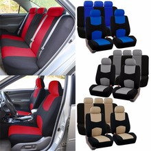 IZTOSS Style Front Rear Universal Car Seat Covers Luxury Cute Auto Vehicles Accessories Whole