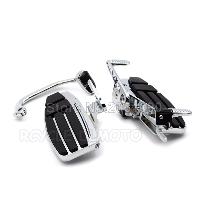 For Honda Goldwing GL1800 F6B 2001-2015 Valkyrie 2014-2016 Motorcycle Driver Footboard Floorboard Moto Front Foot Rest Case