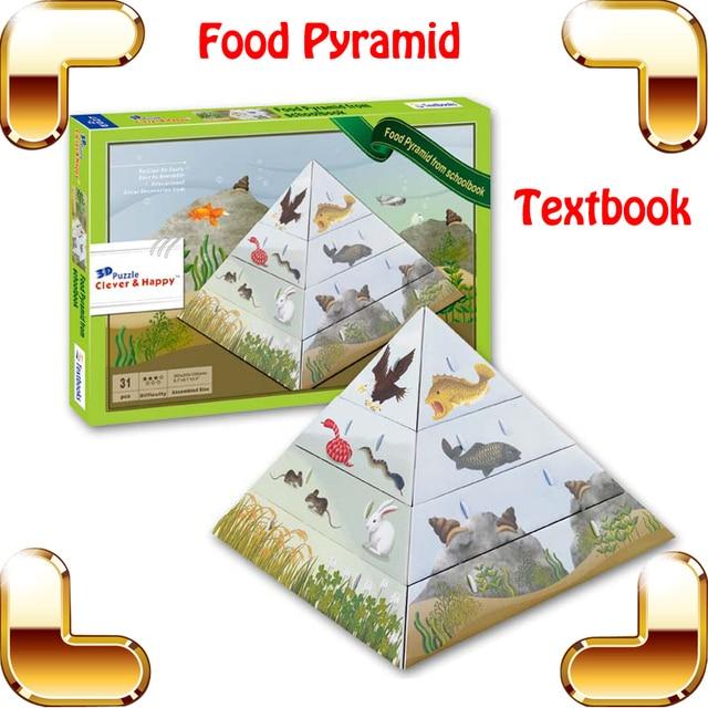 Regalo De Ano Nuevo Piramide 3d Puzzle Modelo Diy Texto Herramienta