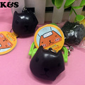 4cm Squeeze Squishy Phone Charm Toy Cute KAPIBARASAN Cookies Squishies Wholesale Pendant Mobile Phone charm Original Package Tag