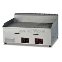 Stainless steel Gas griddle Machine Grill machine Grill food machine GH 722