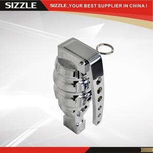 Image 1 - Botão de alumínio do deslocamento da granada do cromo para hummer h2 2003 2005