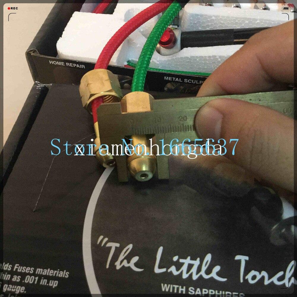 Oo livraison gratuite Mini Smith torche brasage & brasage Smith équipement avec 5 conseils pour bijoux outils orfèvrerie outil - 2