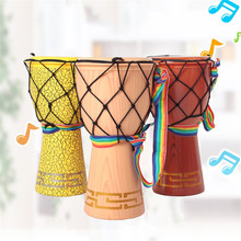 Baby Musical Toys Educational Gifts 12 Inch African Drum Enlightenment Beat Music Hand Tuning-Free Portable Brinquedos