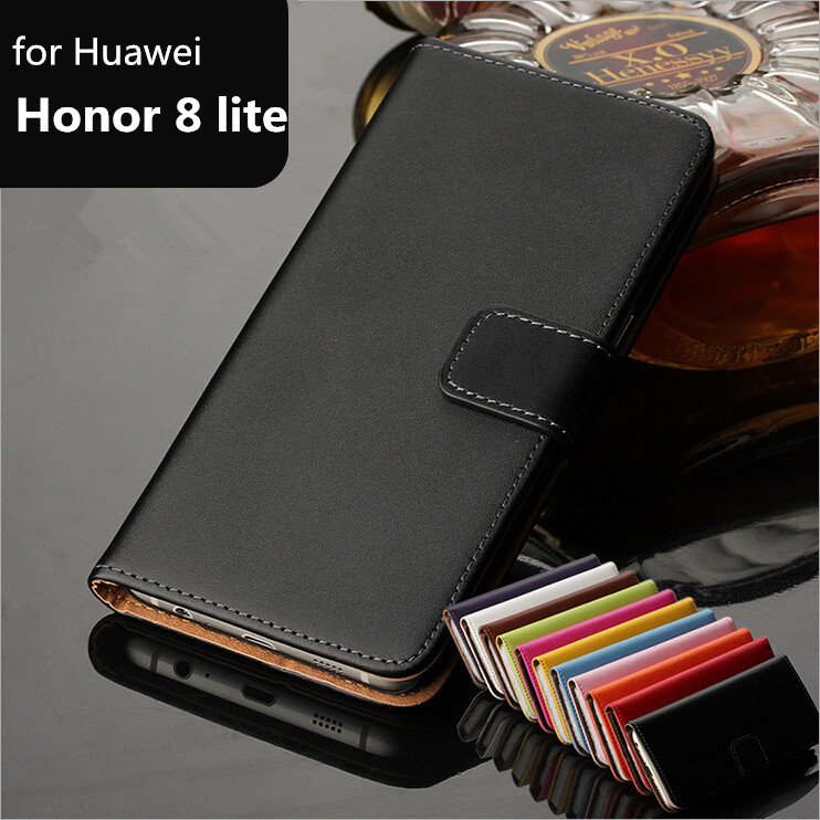 Buy Luxury Wallet case For Huawei Honor 8 lite card holder holster Premium Leather Flip Cover Case for Huawei Honor 8 Lite GG for $6.01 in AliExpress store