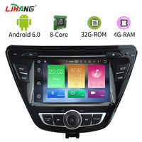 LJHANG Eight Core 4G Android 6 0 2 Din 7 Inch Car DVD Player For Hyundai