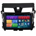 O Envio gratuito de 10.2 ''Quad Core Android 4.4 PC Do Carro de Som Do Carro para Nissan Novo Teanna 2013 2014 15 Com Rádio GPS Áudio Sem DVD