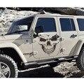 59x53 CM 1 Pcs Clássico Punisher Crânio Etiqueta Do Carro Para Carros Decorações das Janelas Do Lado Do Caminhão SUV Porta Caiaque Decalque Do vinil