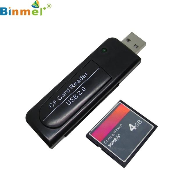 Kwaliteit Hoge Snelheid USB2.0 CF kaartlezer Compact Flash kaartlezer LJJ1227
