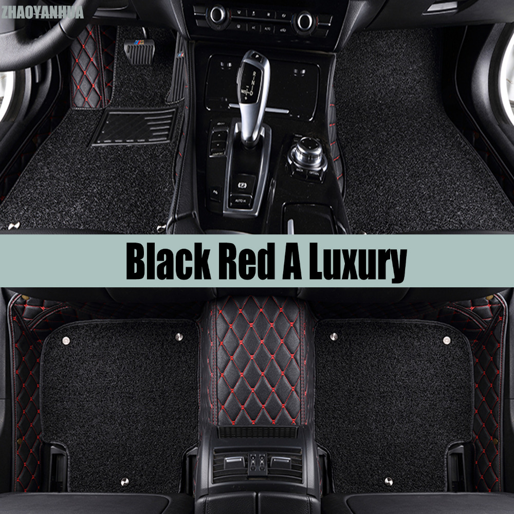 ZHAOYANHUA car floor mats for Kia Sportage Cerato Forte K3 Rio K2 full cover good case all weather car-styling carpet liners (20