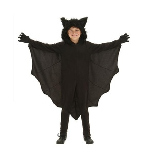 Image 2 - Halloween Children Vampire Costume Black Evil Bat Womans Jumpsuit Masquerade Carnival Boys Cute Role Playing Vampire Jumpsuit