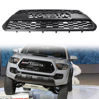 For 2016-2017 Toyota Tacoma TRD PRO Black Front Upper Grill Grille PT22835170