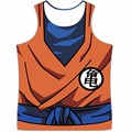 Nuevo Dragon Ball Z Goku Vegeta Tank Tops Gimnasio Bodybuilding Chaleco Hombres Mujeres Hipster DBZ Anime 3D t shirt camisetas