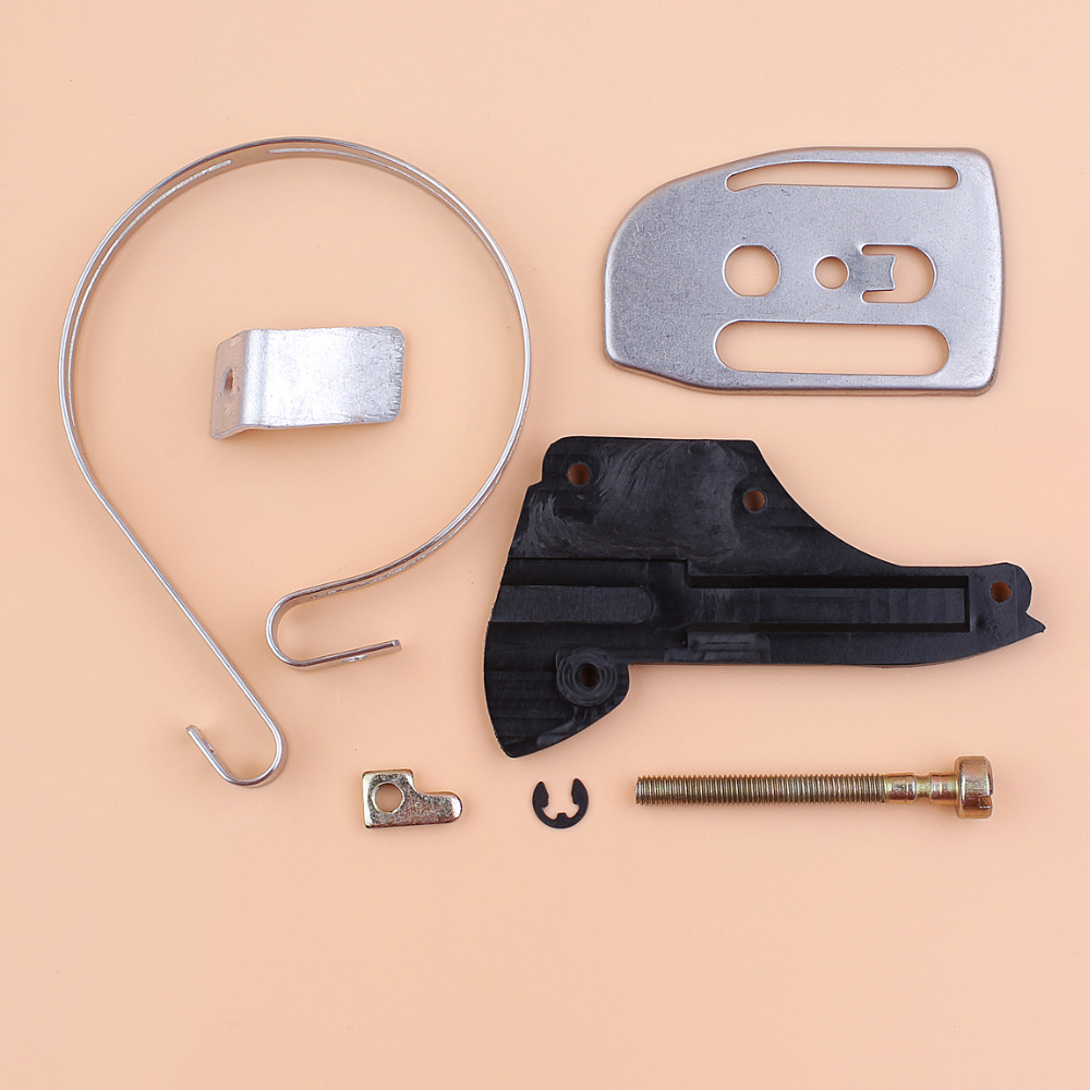 Bar Plate Chain Tensioner Catcher Brake Band Cover For Husqvarna 36 41 136 137 141 142 Gas Chain Saws Replacement