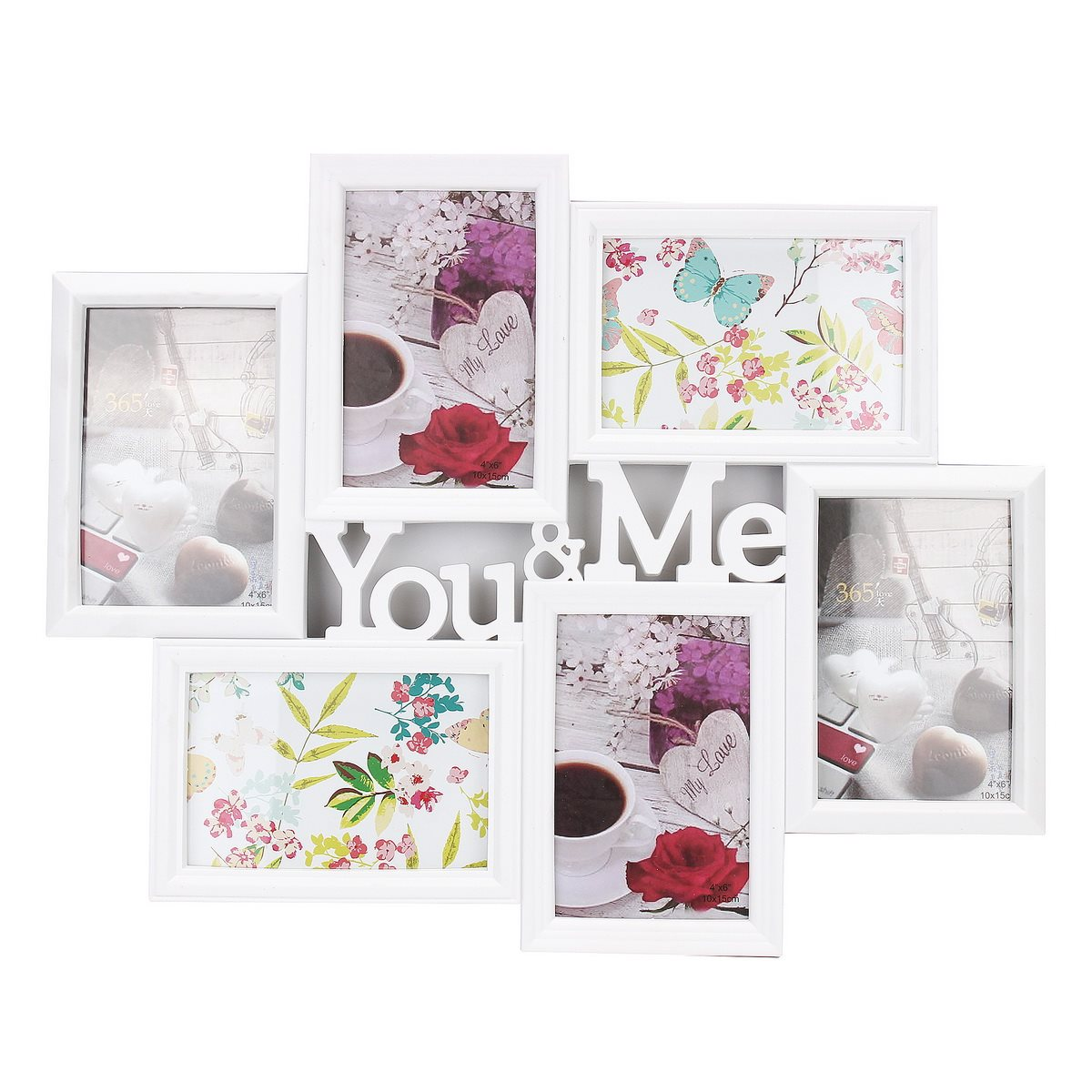 You me pictures 6 images display aperture photo frame wall for Home interiors and gifts framed art