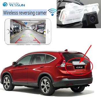 YESSUN For Honda For CR-V For CRV 2012~2013 back up Reverse Camera Auto Wireless Rear View Camera Rear View Camera Night Vision фото