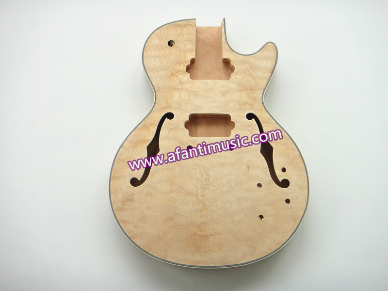 ФОТО Jazz guitar body/ AFANTI electric guitar body / DIY guitar body(AJZ-225K)