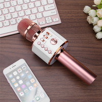 KTV Microphone Handheld Wireless Bluetooth Karaoke Home Mic Speaker Player Professional Microphones for Home Party Smart TV PC