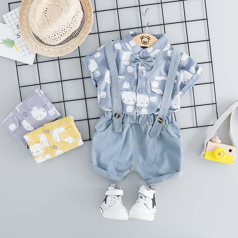 eabc7e2aec1e6 っ Popular baby boys suits sets gentleman toddler boy clothes and ...