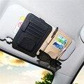 Wupp car sun visor gafas de sol tarjeta de recibo del billete clip gafas titular de almacenamiento y tarjetas de soporte para coche